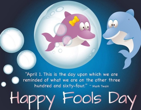 happy fools day wallpaper image
