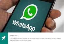 WhatsApp PIN chats feature launches for Android users