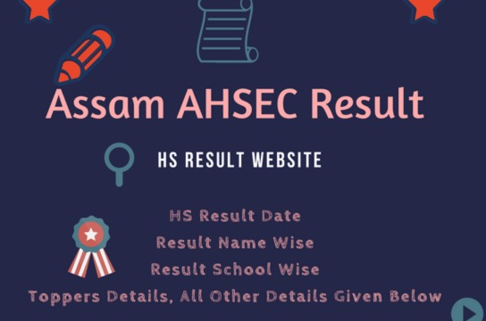 AHSEC to Announce Assam HSSLC 12th Results 2017 Today @ ahsec