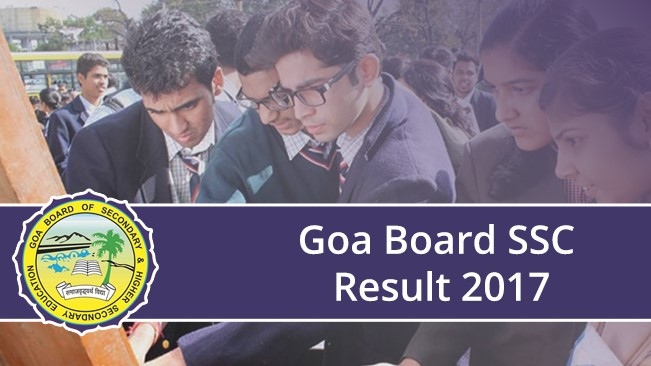 goa board ssc result 2017
