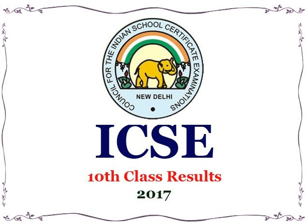 ICSE Class 10 results 2017 to be announced today
