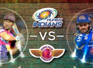 mumbai indians vs rising pune supergiant playoff qualifier 1