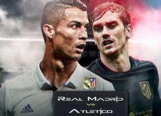 Real Madrid vs Atletico Madrid - UEFA Champions League 2017 Semifinals Game 1