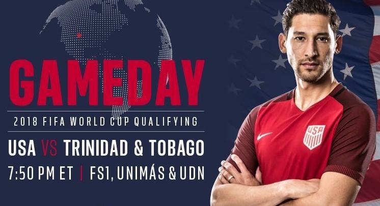 usa vs trinidad and tobago live