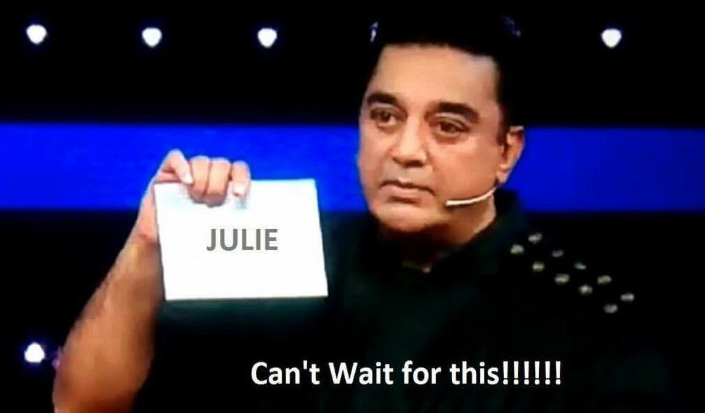 Eliminate Julie from Bigg Boss