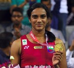 PV Sindhu wins Korean Super Series World Badminton Championship 2017 1