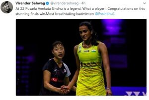 PV Sindhu wins Korean Super Series World Badminton Championship 2017 3