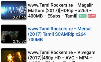 Mersal Movie in Tamilrockers