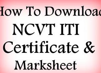 NCVT MIS ITI Result 2017