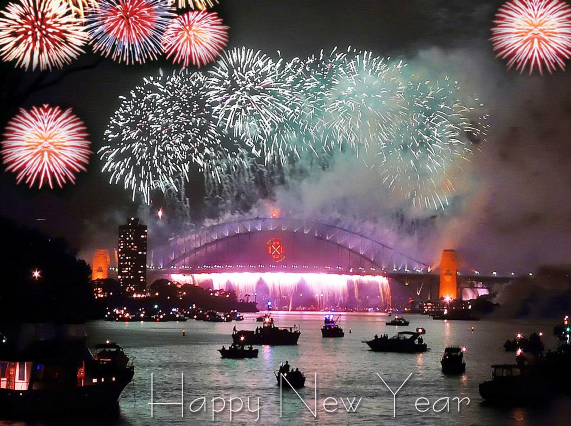 Best Happy New Year HD Wallpaper