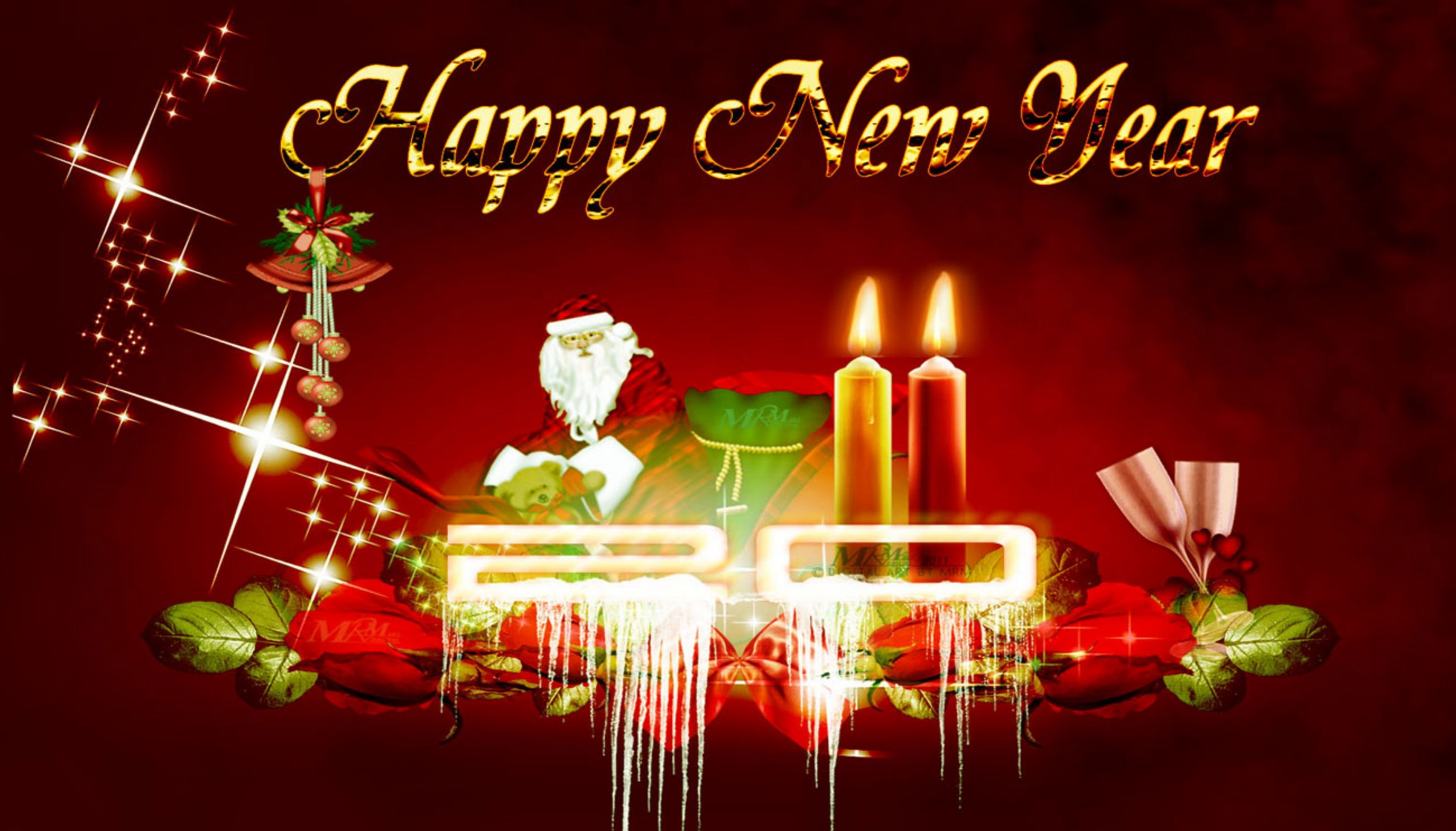 Christmas and new Year wallpaper image