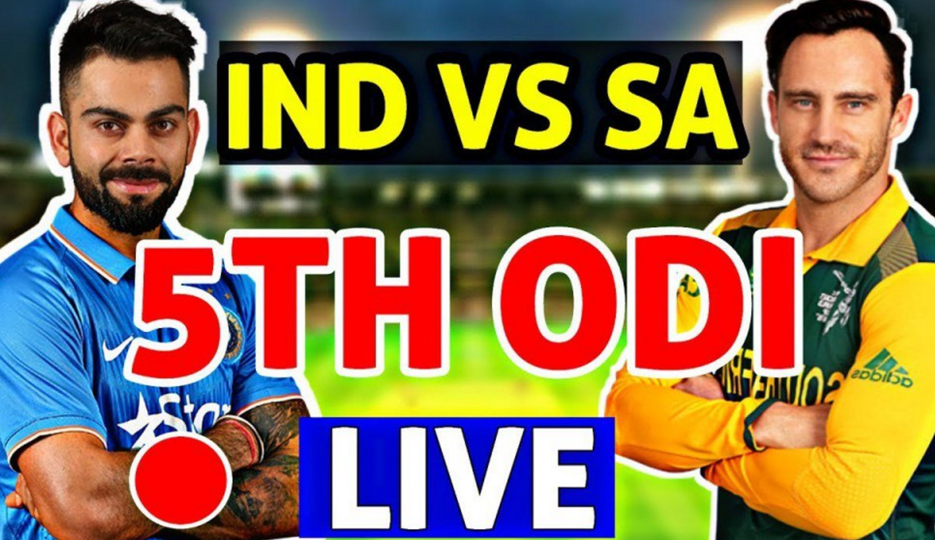 India vs South Africa Live Cricket Score