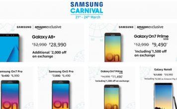 Samsung Carnival - Amazon India Hot deals