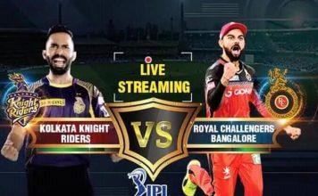 KKR vs RCB Live Streaming