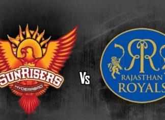 IPL live Streaming RR vs SRH