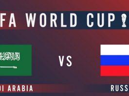 Russia vs Saudi Arabia Live Streaming
