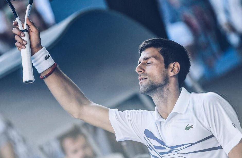 Novak Djokovic vs Lucas Pouille live streaming Australian Open