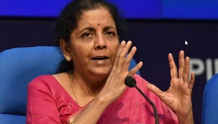 Nirmala Sitharaman Holds meetings